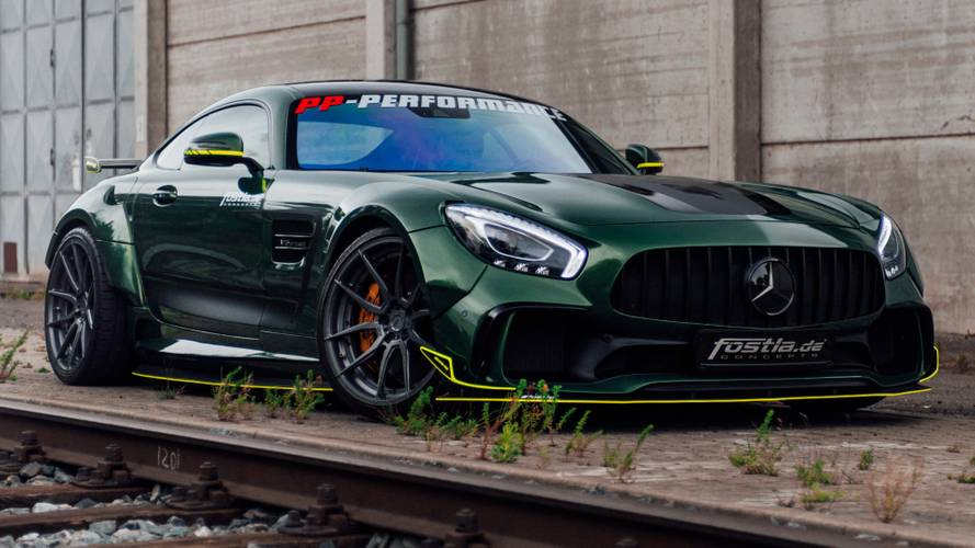 Mercedes-AMG GT looks mean and green with 650-bhp