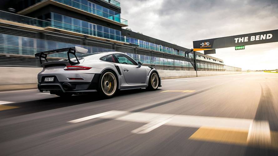 Porsche 911 GT2 RS Sets Record At Australia's Newest Race Track