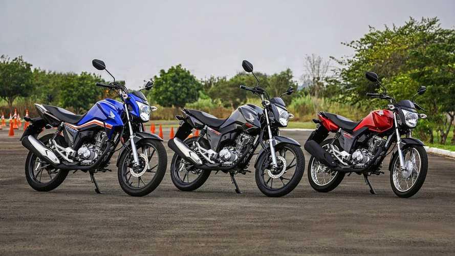 Honda lança CG 2019 com novos grafismos e preço inicial de R$ 7.161