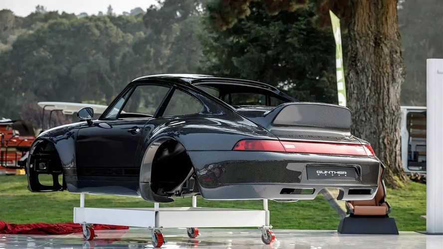 La Porsche 911 in fibra di carbonio