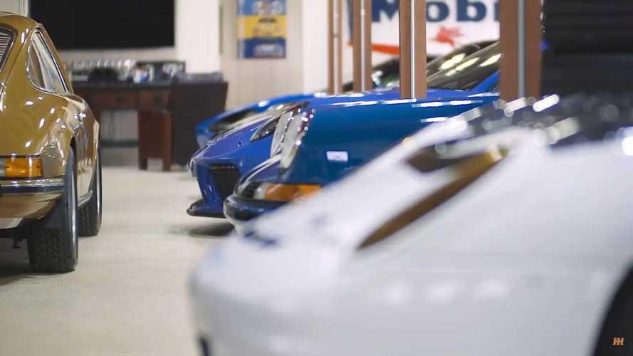 Colorful Porsche collection