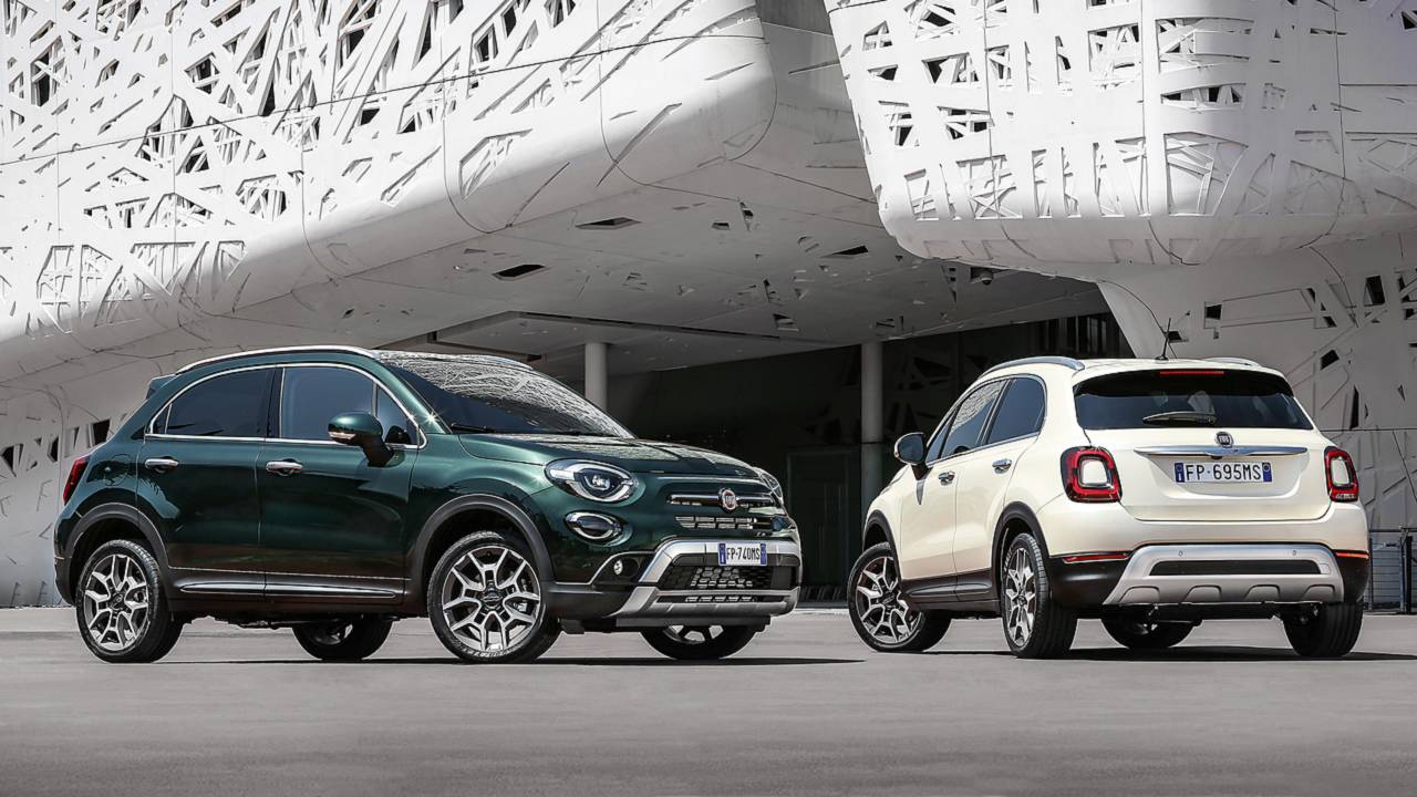 Fiat 500X restyling 2018