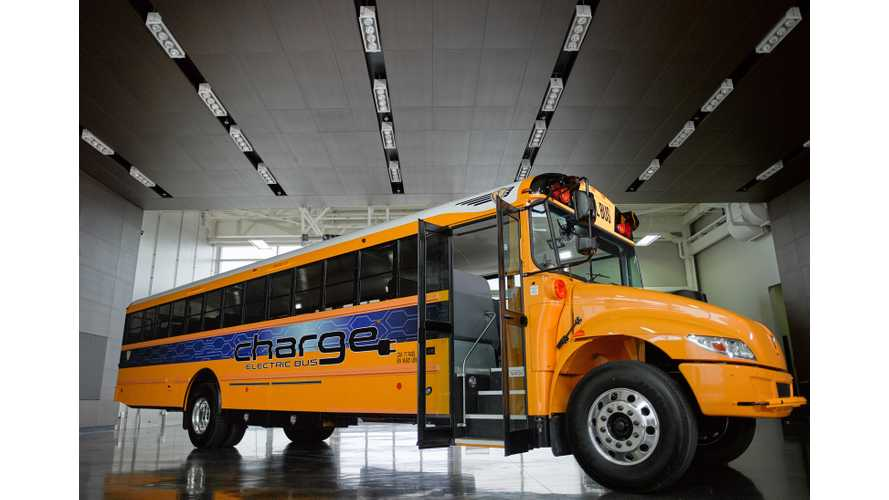 IC Bus's chargE Electric School Bus Hits The Road Today