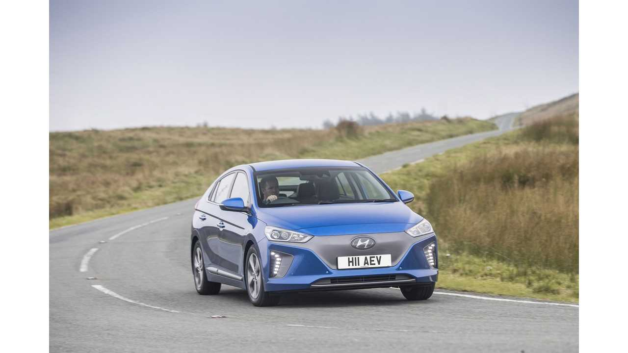 Hyundai IONIQ Electric Gets Detailed EPA Ratings (City/Highway/Combined) - Becomes U.S.' Most Efficient Vehicle