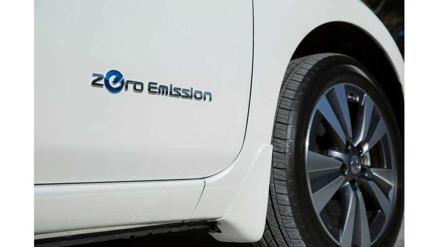 Nissan LEAF US Sales Sag In April