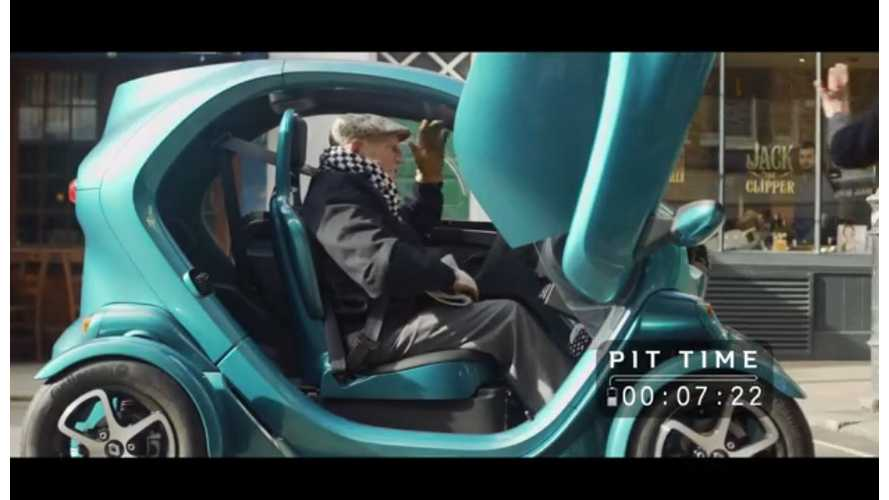Stirling Moss: 108 Cars Piloted In Racing Career, Now Drives A Renault Twizy - Video