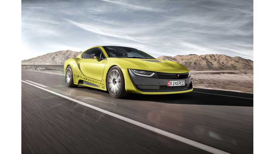 Rinspeed Shows Off Etos BMW i8 (w/video)