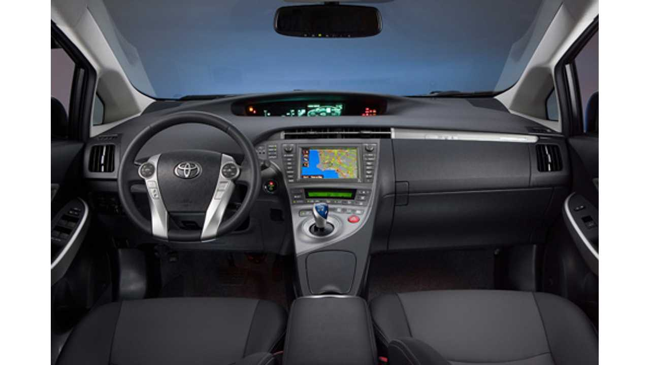 Toyota Prius PHV From The Inside