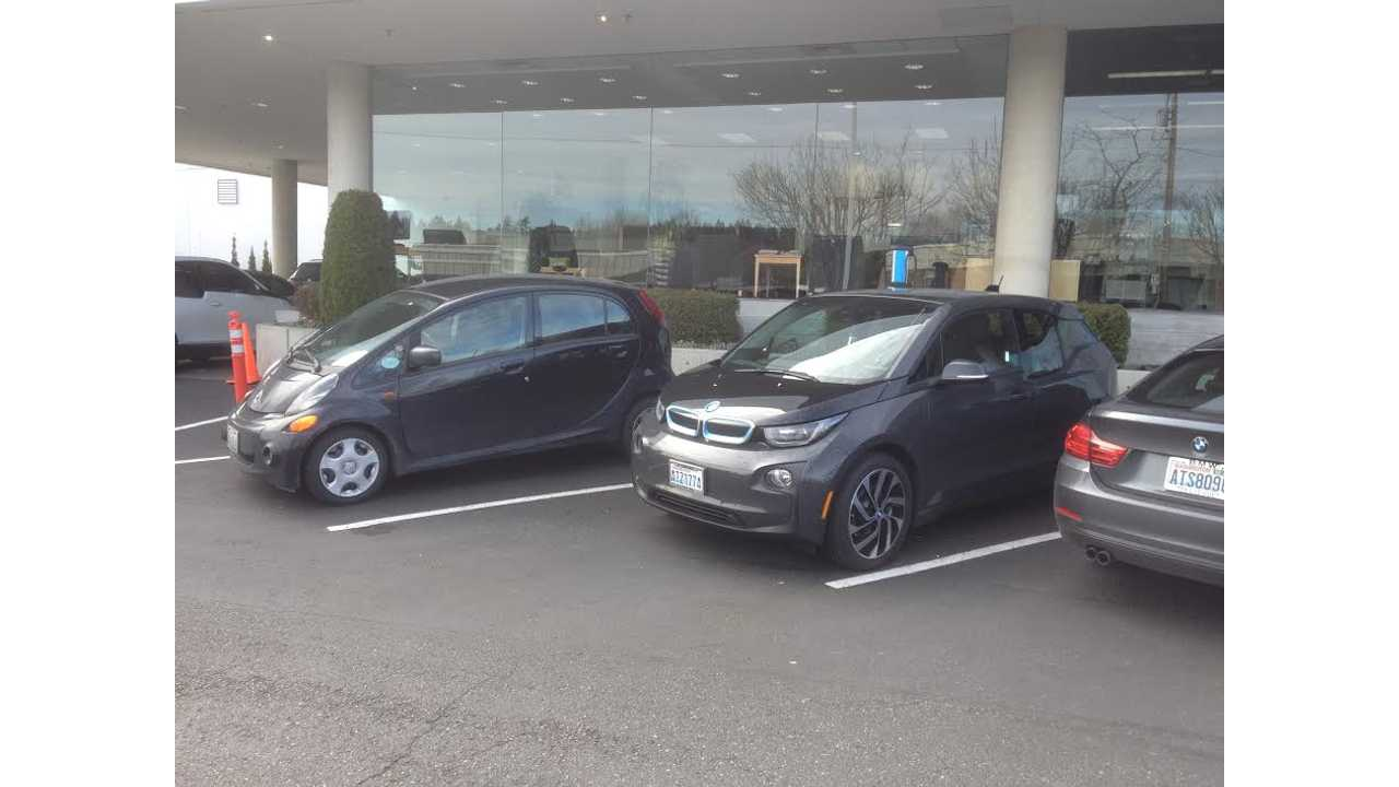 The i3 Is One Of The Few Cars That Makes An i-MiEV Look Sexy