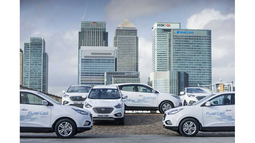 Hyundai Leased Only 70 Tucson Fuel Cell SUVs In U.S. In First Year Of Availability
