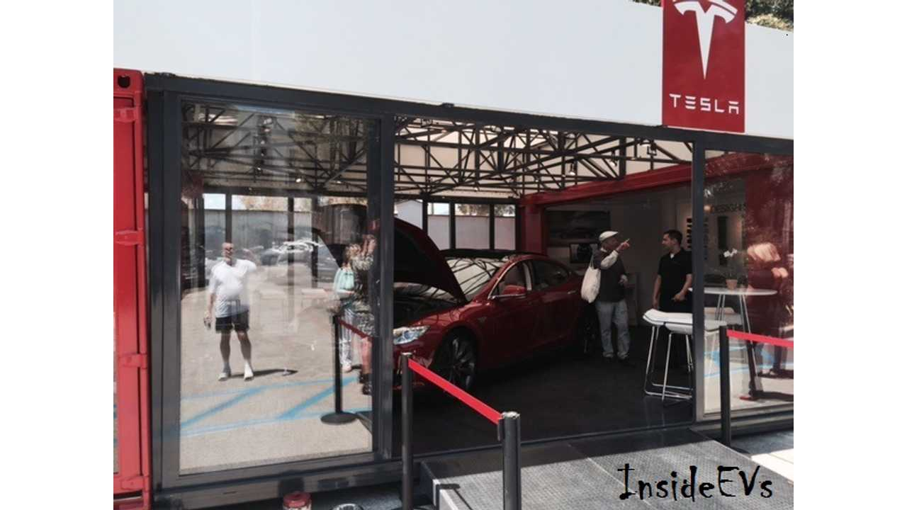 Tesla's Innovative Pop-Up Store Makes US Debut In Santa Barbara (via David Wexler)