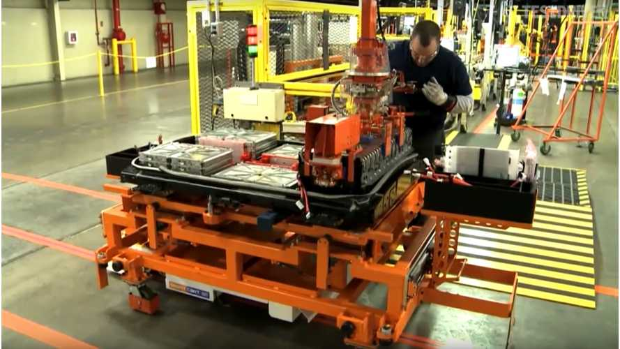 2016 Nissan LEAF & Battery Production In Tennessee - B-Roll Videos