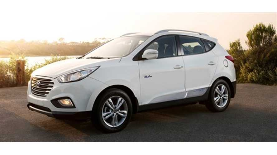 Average Hyundai Tucson FCEV Racks Up Only 6,786 Miles In First Year On Road