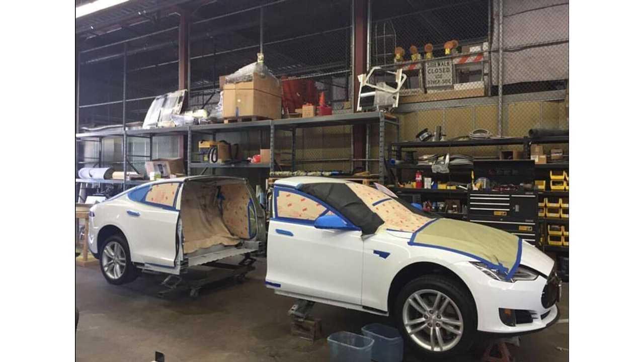 Big Limos - Tesla Model S Custom Limousine