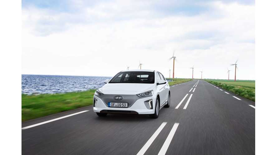 Wallpaper Wednesday: Hyundai IONIQ Electric (with bonus windmills of course)