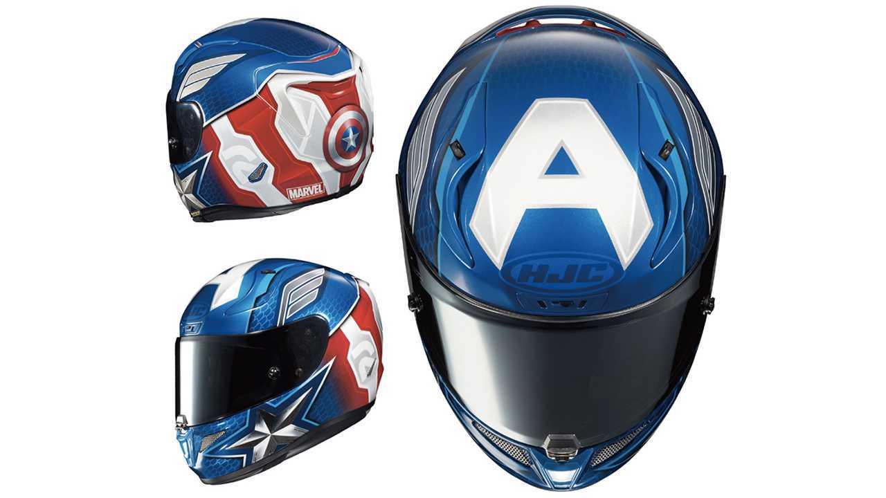 HJC Captain America RPHA 11 Pro Helmet