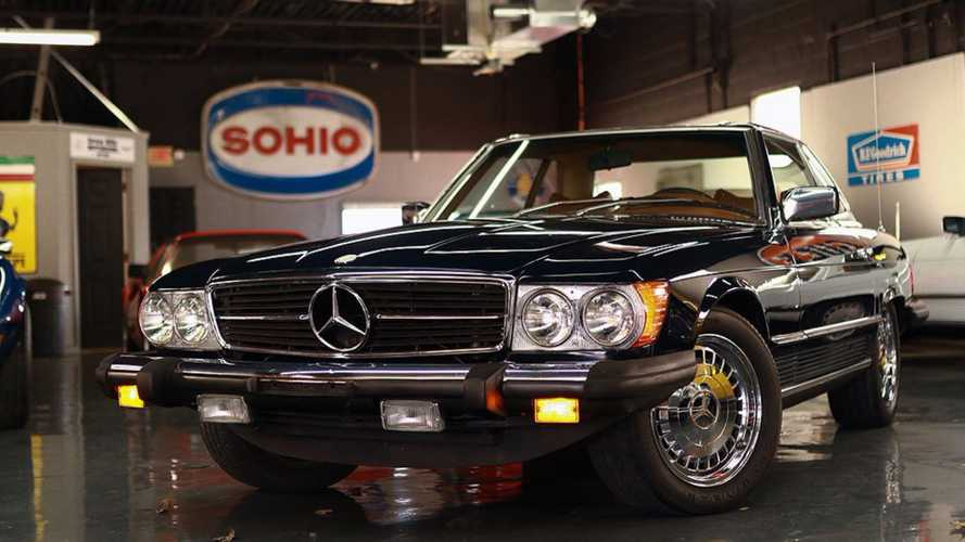 Midweek Bargain: Immaculate 1977 Mercedes 450SL For Only $12k