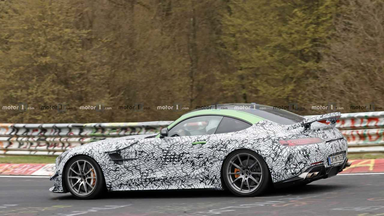 Photo espion Mercedes-AMG GT Black Series