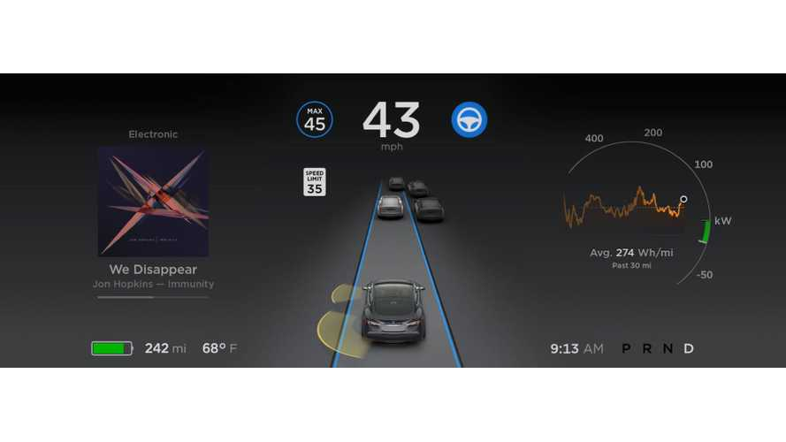 Tesla Autopilot 2.0 Gets New Speed-Related Updates