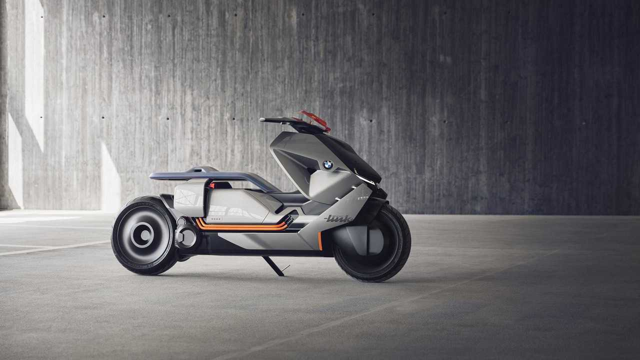 BMW Shows Off Last-Mile Concept Link Electric Scooter