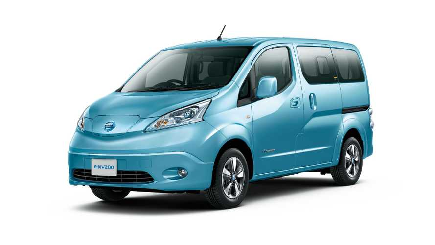Nissan e-NV200 On Sale In Japan Starting This October