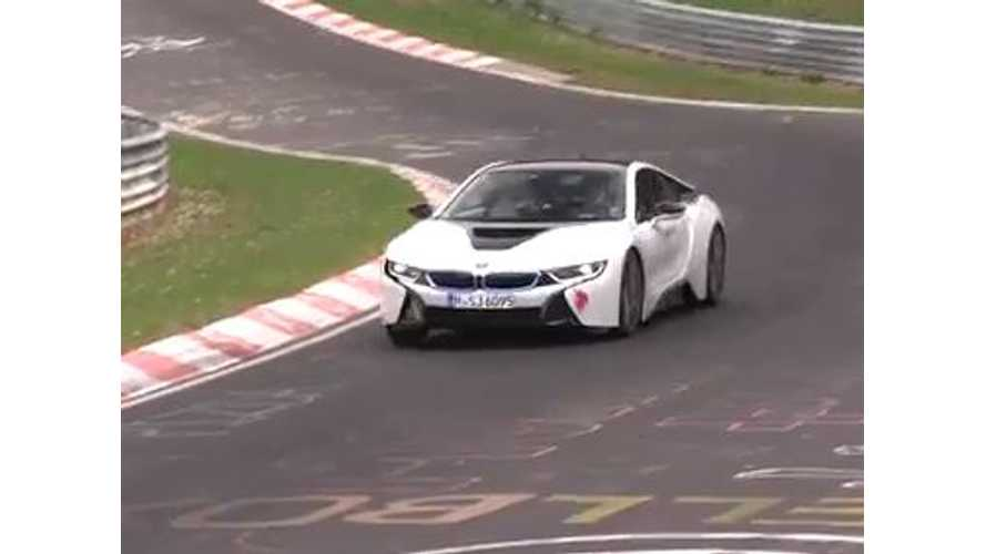 BMW i8 Malfunctions While Lapping Nurburgring - Video