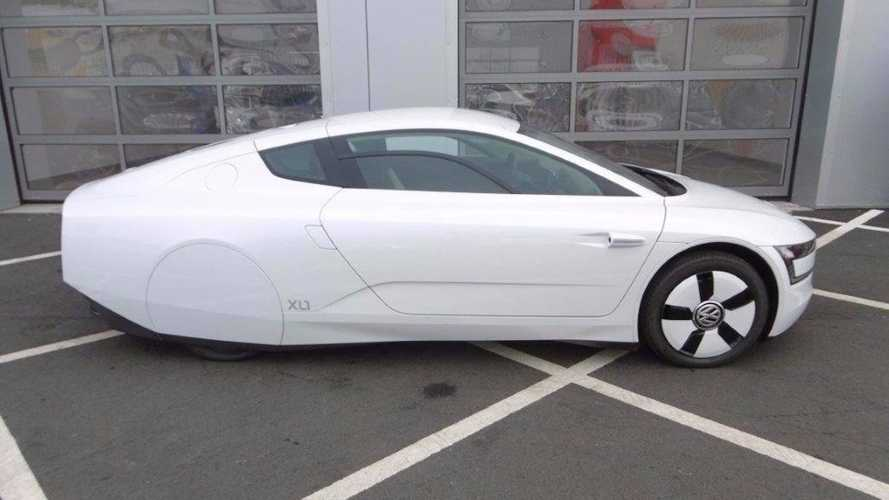 Rare 2015 Volkswagen XL1 Plug-In Hybrid Up For Auction