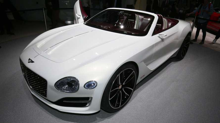 Bentley Joins Porsche: Claims Battery Tech Not There Yet