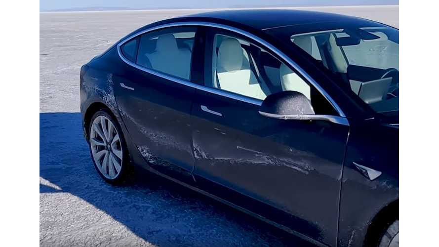 Watch Tesla Model 3 Performance Lose Control At High Speed