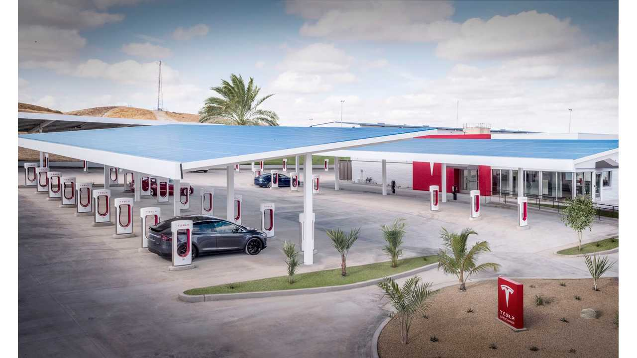 What Happens When You Stalk A Tesla Supercharger For A Day?