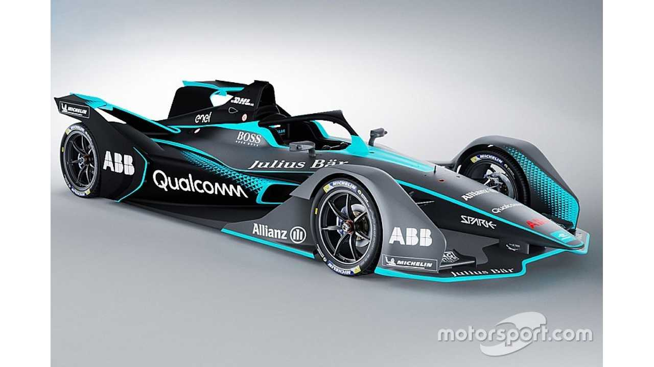 Gen 2 Formula E Race Car Gets Revealed