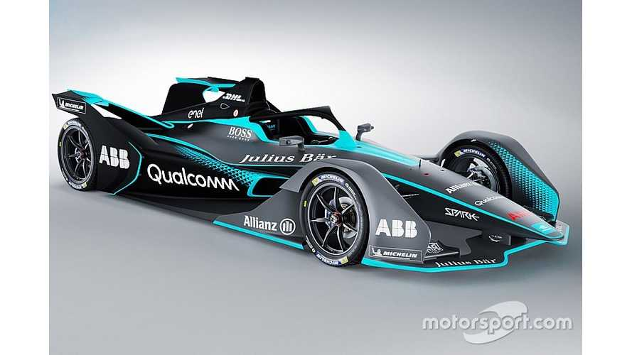 Gen 2 Formula E Race Car Gets Revealed