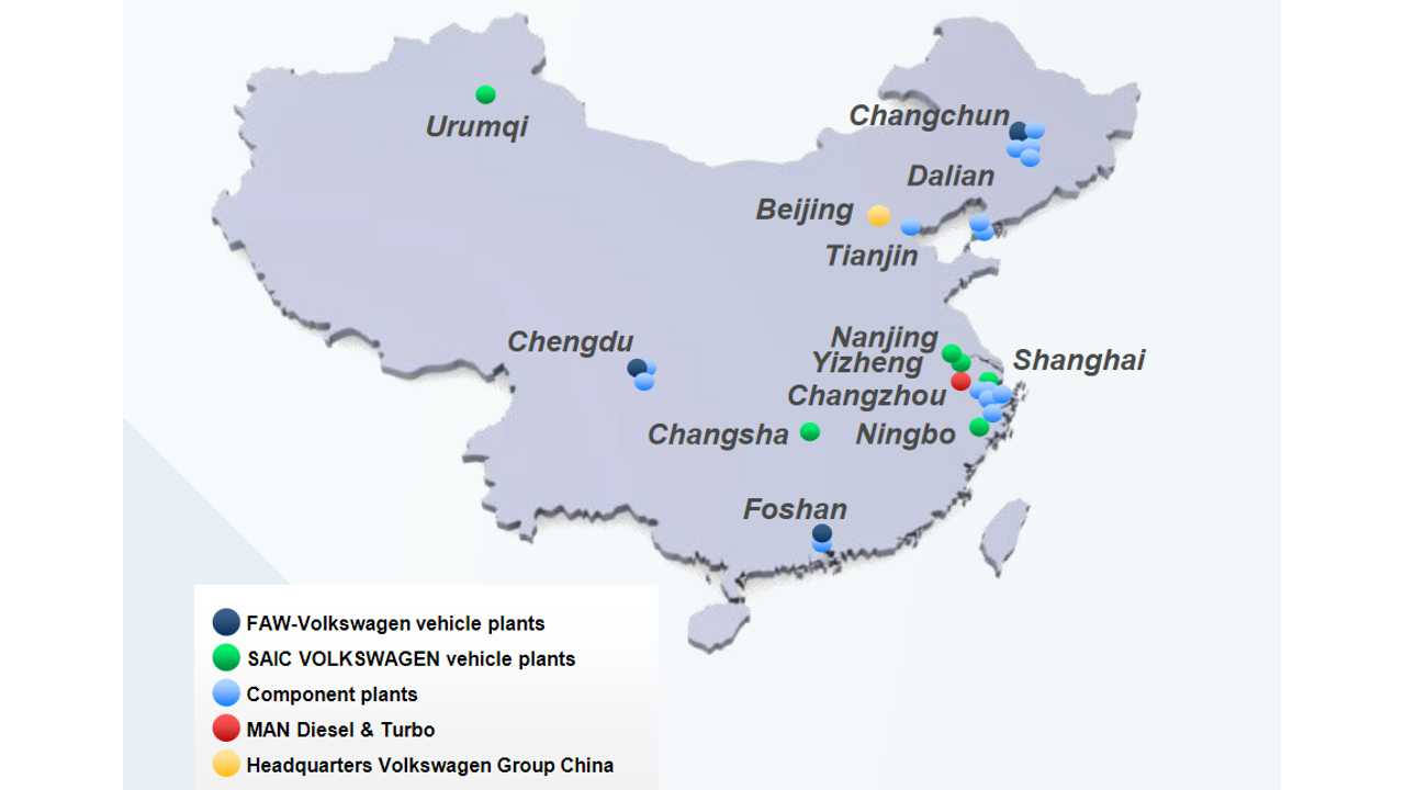 Volkswagen's Mega Factory In China Is Key To E-Mobility Efforts