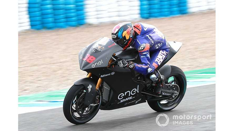 MotoE Test Rider Shocked By Electric Bikes Performance