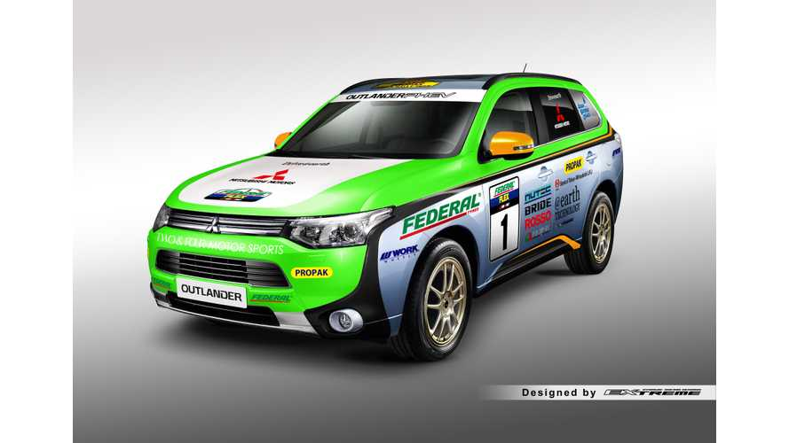 Mitsubishi Outlander PHEV To Compete In Asia Cross Country Rally