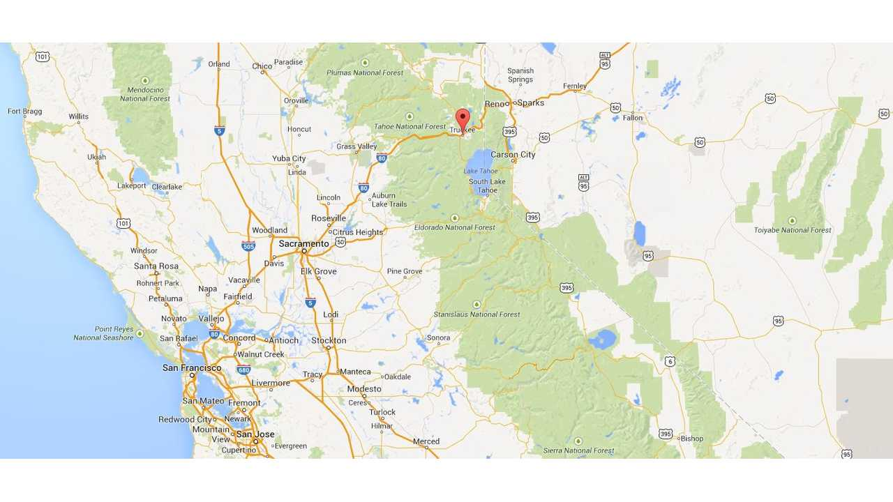 Tesla's Truckee, California Supercharger Makes Trips To Lake Tahoe A Breeze