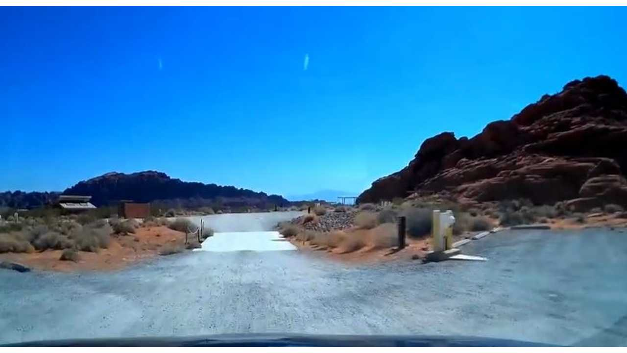 Timelapse Video: Toyota RAV4 EV Road Trip