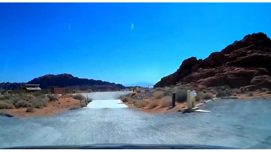 Timelapse Video: Toyota RAV4 EV Road Trip