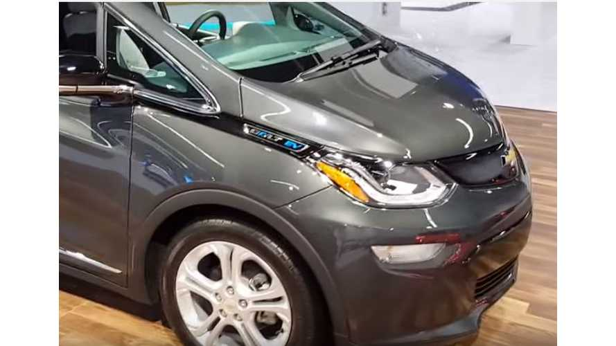 Chevrolet Bolt Walkaround Video From Orange County Auto Show
