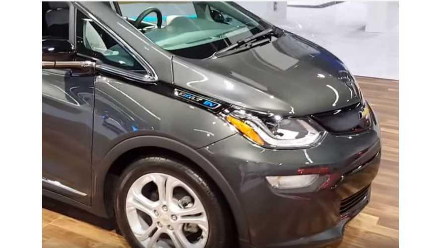 Chevrolet Bolt Walkaround Video From Orange County Auto Show