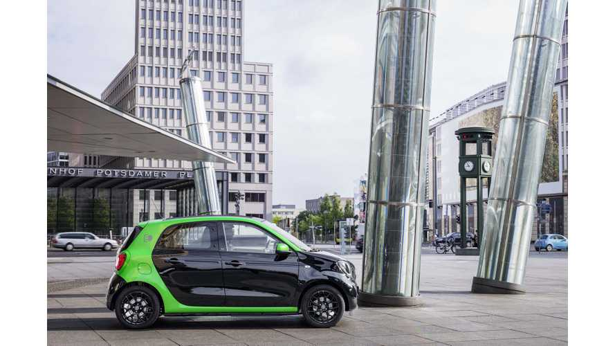Smart Forfour Electric Drive Test Drive Review