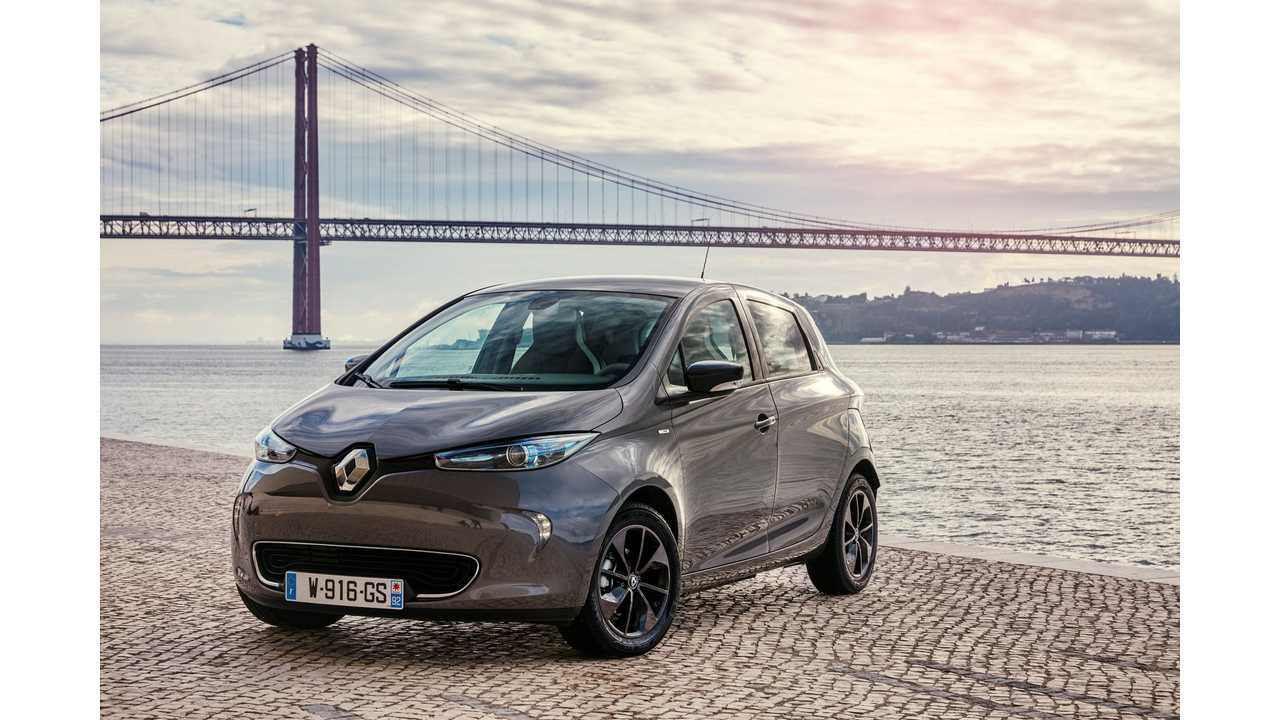 New ZOE Pushes Renault EV Sales Up By 64% In January To 2,800 Registrations