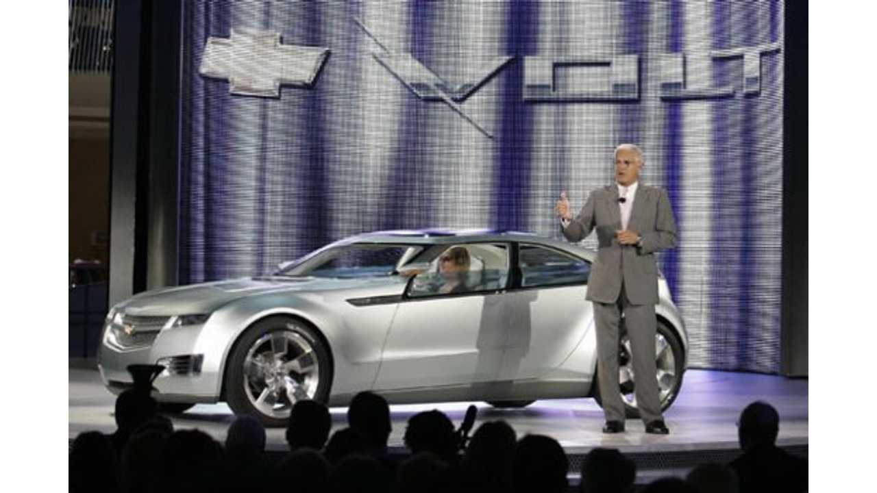 Bob Lutz: Chevy Volt Was My Favorite, Model X Is Broken, Model 3 Won't Arrive On Time Or Price