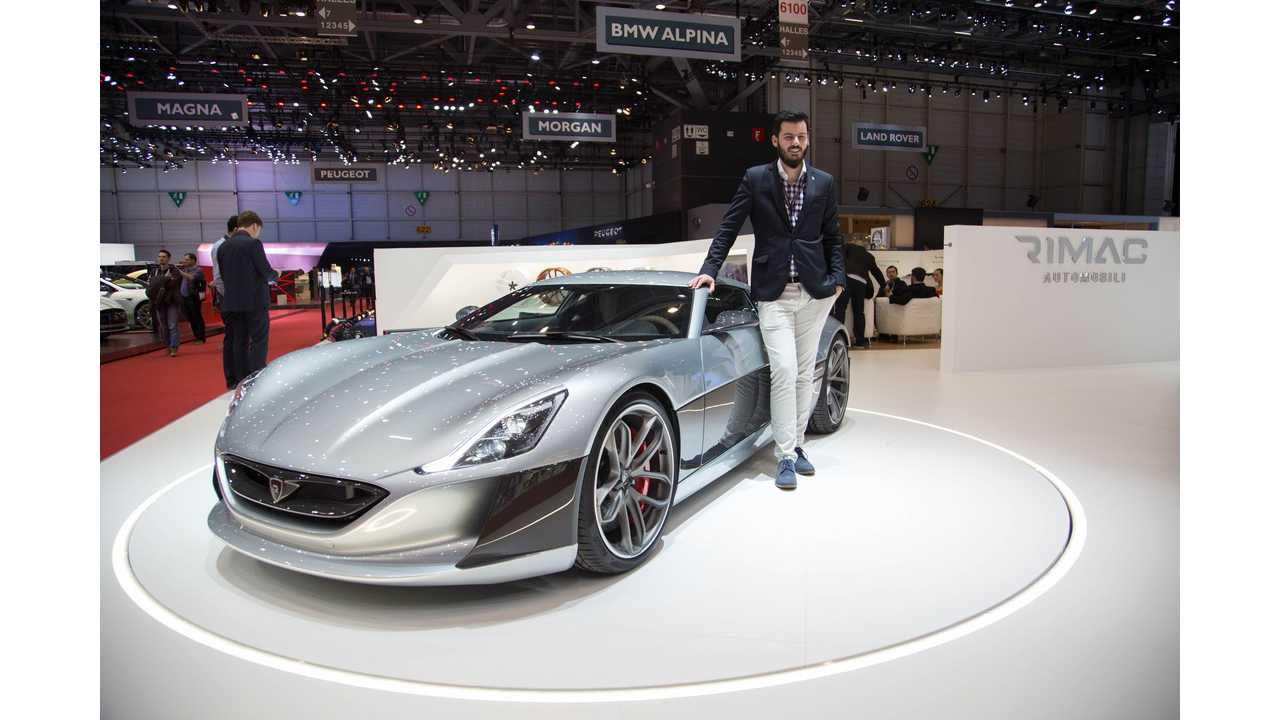 Drive Inside The First US Delivered Rimac Concept_One With Mate Rimac - Video