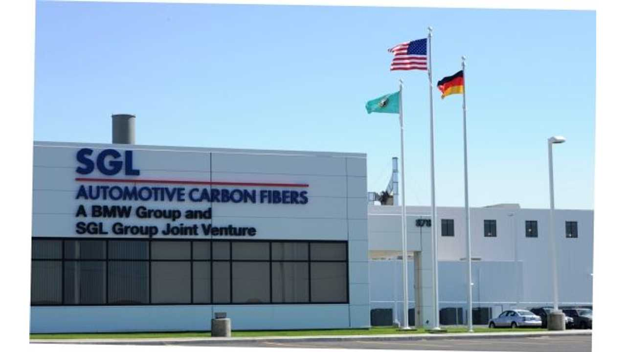 One Has To Wonder Why BMW's Joint Venture SGL Facility In The U.S. Is Not Being Called Upon For Additional Carbon Fiber Supply