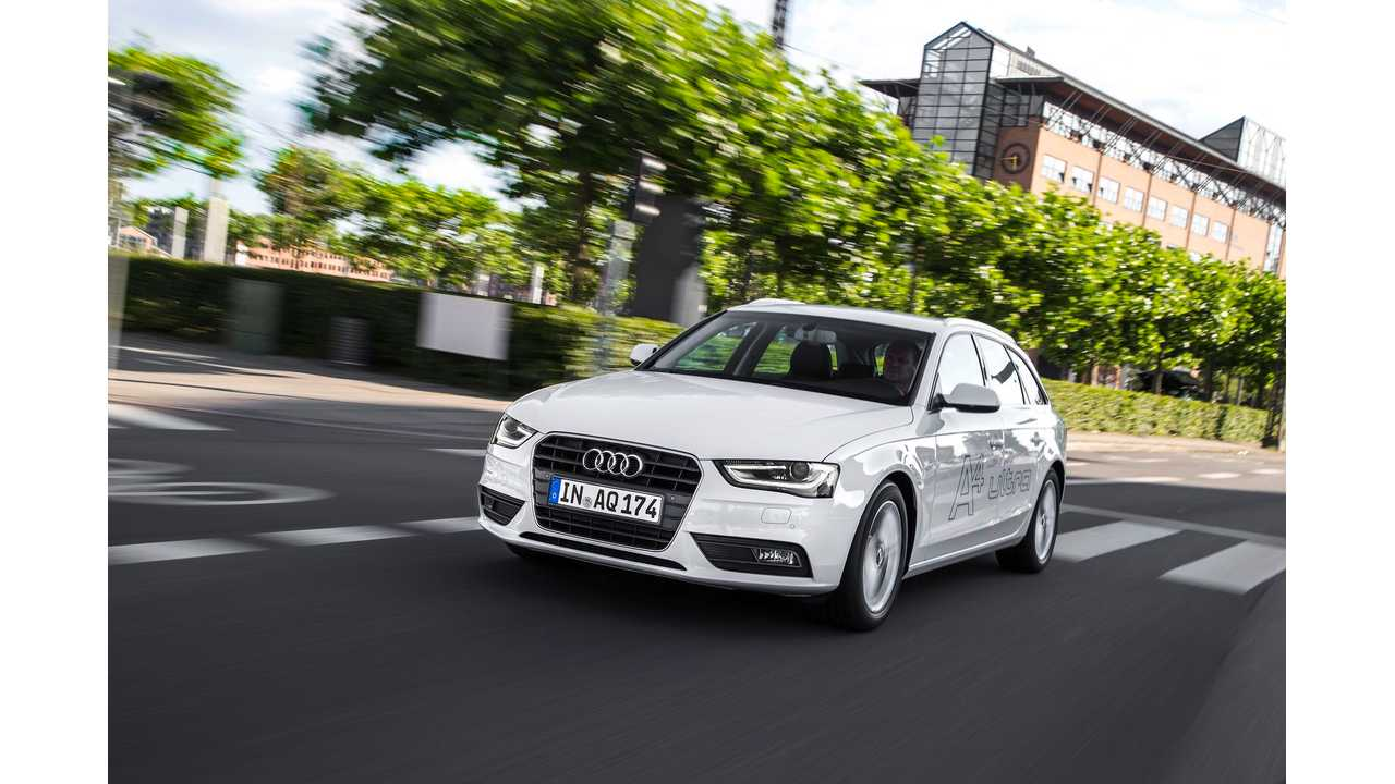 2015 Audi A4 PHEV With AWD Electric e-Quattro System In The Works
