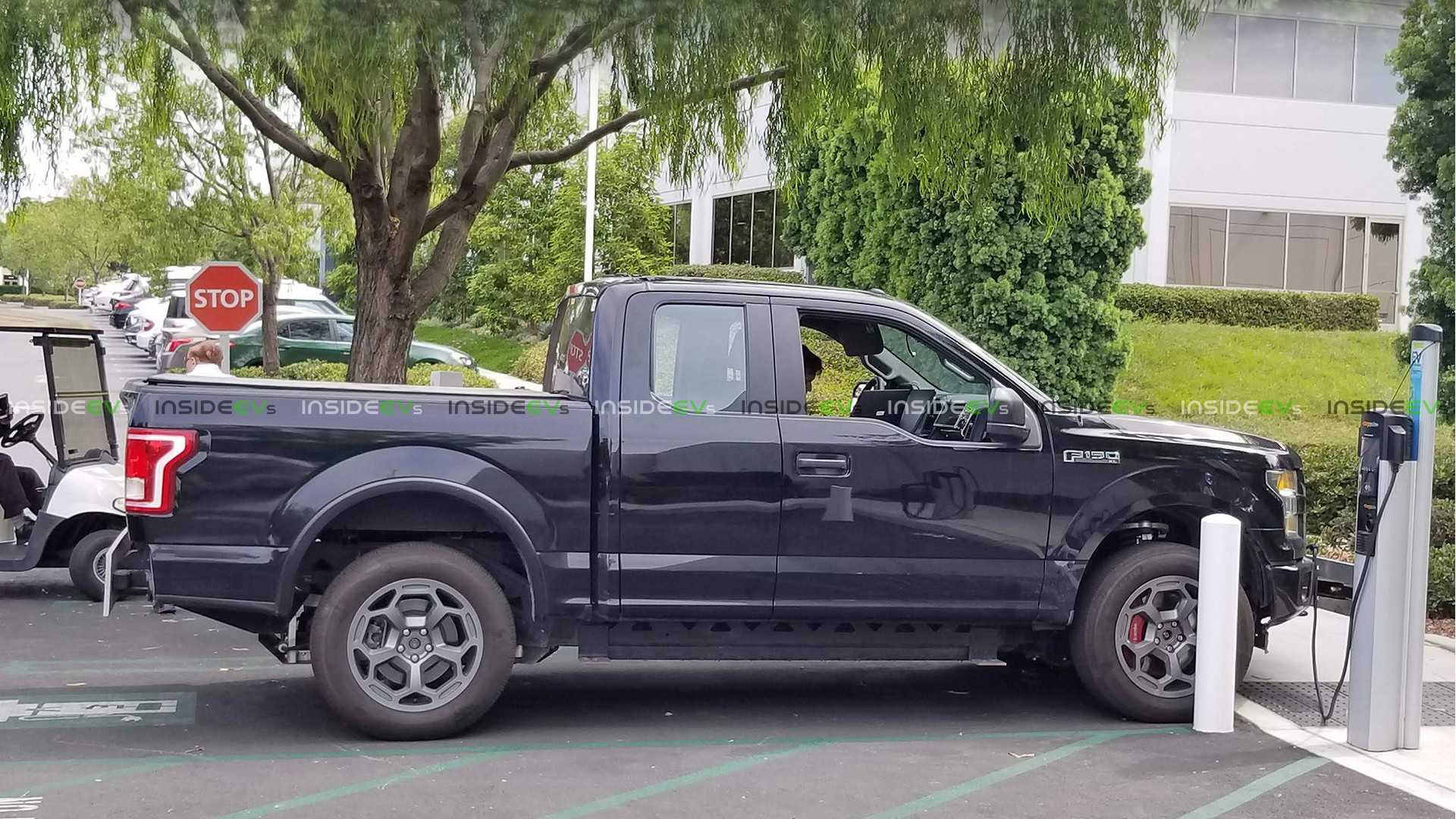Rivian Electric Truck Spied On Sale Late 2019