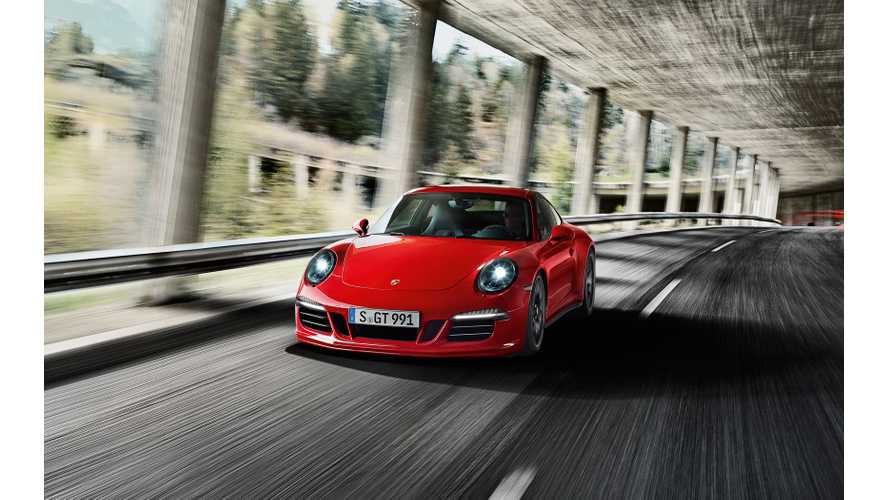 Plug-In Hybrid Porsche 911 Rumored Back On