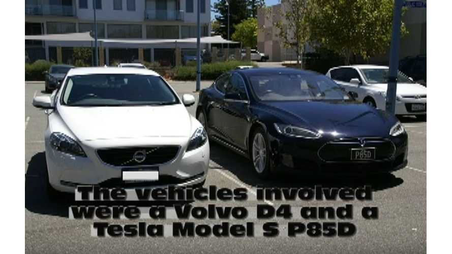 Tesla Model S Charged By Diesel Generator More Efficient Than ICE (w/video)