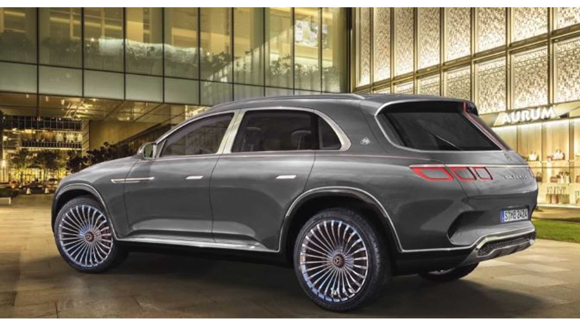 Maybach Vision Ultimate Luxury Rendered As Proper Suv